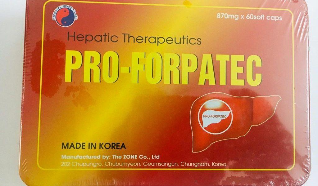 Pro Forpatec có dùng cho người cao tuổi được không?