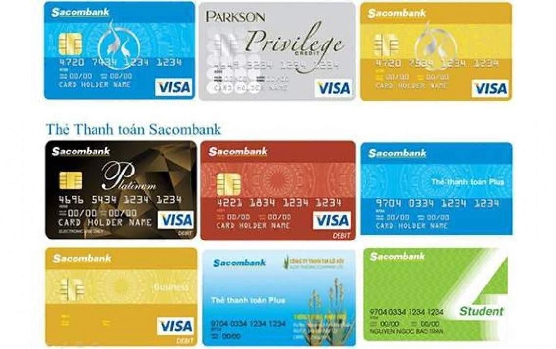 điều kiện làm thẻ tín dụng sacombank