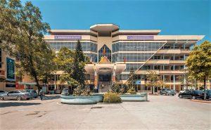 Trụ sở chính của học viện tài chính